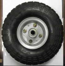 "10"" x 3"" Pneumatic Wheel 5/8"" Axle Use For Hand Truck Wheelbarrow HX-302-36 - $7.92"