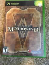 Elder Scrolls III: Morrowind (Microsoft Xbox, 2002): COMPLETE - $9.89