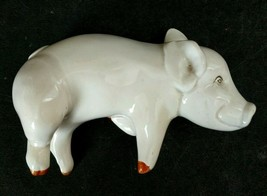 Fitz & Floyd Pig Salt Pepper Shaker, Laying Down Pig, One Shaker, Replacement - $11.83