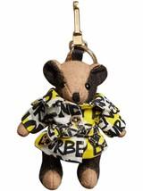 Burberry Thomas Bear Bag Charm in Graffiti Print Trench Coat Key Fob ~NW... - $212.06