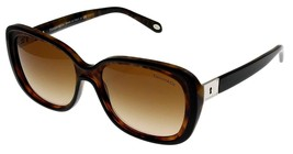 Tiffany & Co Sunglasses Women Brown Havana Rectangular TF4091B 80503B - $246.51
