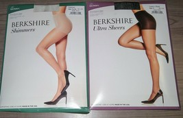 Berkshire Women's No Waistband Ultra Sheer Pantyhose The Skinny Control Top - $3.56