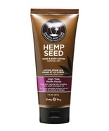Earthly Body Hand Body Lotion Velvet High Tide 7 oz Tube Hemp Seed Mostu... - $12.86