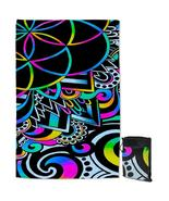 Retro Colors Abstract Shapes Quick Dry Beach Towel - $28.19+