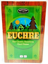 FRONT PORCH CLASSICS - EUCHRE - VINTAGE - CARD - GAME - BRAND NEW - BOAR... - $7.19