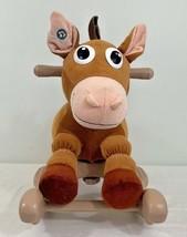 Disney Pixar Toy Story My Rocking Bullseye Ride On Horse with Sound - $21.73