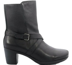 Abeo Pacifica Boots Black Women's Size US 7.5 Metatarsal Footbed () 5733 - $95.00