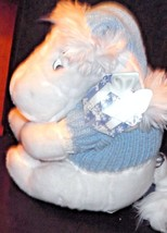 Disney Winter White Eeyore Snowflake Sweater & Hat - $18.49