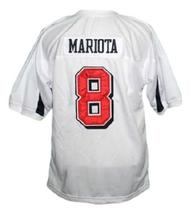 Marcus Mariota #8 Saint Louis High School Men Football Jersey White Any Size image 4