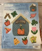 Janlynn Plastic Canvas Seasonal House Welcome Sign Holidays Seasons 21-166 - $16.99