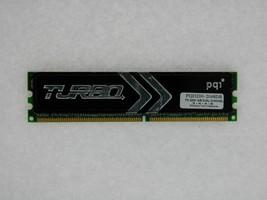 PQI TURBO PQI3200-2048DB 1GB PC 3200 DDR 400 184-Pin Desktop Memory