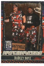 """2002 Fleer WWF All Access """"Dudley Boyz"""" Matchmakers Trading Card (Mint) ... - $4.94"""