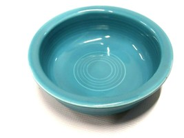 Vintage Fiesta Fiestaware Blue Turquoise Round Serving Fruit Bowls Set of 3 - $49.50