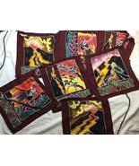 Decorative Prayer Good Karma Pele's Fire Flag Seven Flag String - $28.04
