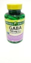 Gaba 750mg Relaxation Support, 100 Vegetarian Capsules Gamma Aminobutyri... - $15.35