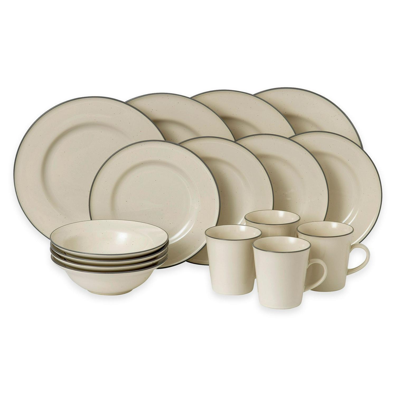 Gordon Ramsay by Royal Doulton Union Street 16-Piece Dinnerware Set in Cream - $260.81