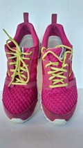 REEBOK Size 7.5M RealFlex Mesh RASPBERRY Running Shoes Womens  - $20.57