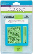 Provo Craft Cuttlebug Embossing Folder Mr. Maverick, 2 Pieces #2001312