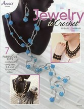 Jewelry to Crochet 7 Sets Annie's Crochet Pattern Booklet NEW - $6.72