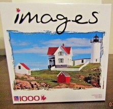New Sure-Lox 1000 Piece Jigsaw Puzzle Images Lighthouse Maine - $14.95