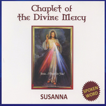 CHAPLET OF THE DIVINE MERCY with Susanna - $21.95