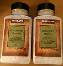 Kirkland Signature Chopped Onion Gently Dried Finest Quality 11.7 oz - $13.46+