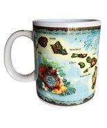ABC Hawaiian Islands Ceramic Coffee Cup Mug (Choose) - $19.99