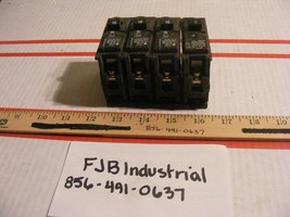 Lot Of 4 Siemens Q115 Breaker 15A 1P 120V 10K Qp - $34.99