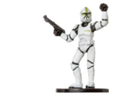 CLONE TROOPER SERGEANT 10 Wizards of the Coast STAR WARS Miniature - $1.29