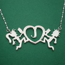 Handmade 925 Sterling Silver Juggalo Love - $42.00