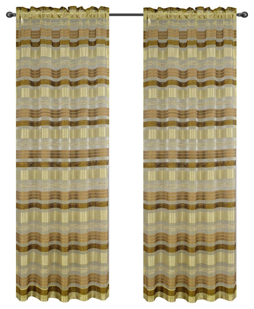 Becca Drapery Curtain Panels image 8