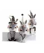 Polyester Easter Gnome Shelf Sitters, set of 3  - $74.99