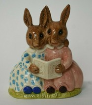 Vintage Royal Doulton Bunnykins Storytime D89 Figurine Golden Jubilee 1984 - $19.80