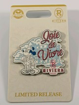 Disney Pin Trading Riviera Resort Joie de Vivre Limited Release Pin - $15.83