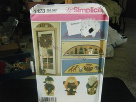 Simplicity 4423 Door Stops & Arches Pattern  - $7.91