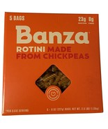 Banza Rotini Pasta Made From Chickpeas, 5 bags of 8 oz each Box - $35.00