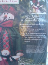 1996 Dimensions Bottle Buddies Kit Ms Chilly & Willy Craft kitsch snow m... - $14.82