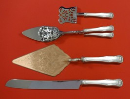 King by Kirk Sterling Silver Dessert Serving Set 4pc Custom Made - $349.00
