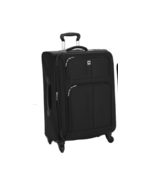 """DELSEY AMHERST LITE EXPANDABLE SUITER TROLLY 2 WHEELS 26"""" BLACK SOLID NE... - $239.90"""