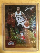 LeBron James RARE 2016-17 Prestige Gold Foil Mint US FREE shipping - $14.03