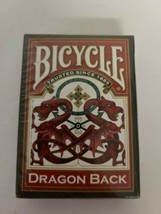 1 Deck Bicycle Dragon Back Red Standard Poker Playing Cards Brand NEW SE... - $23.19