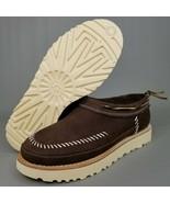 UGG Australia Campfire Nubuck Suede Loafers Mens SZ 8 Leather Slip On Br... - $102.84