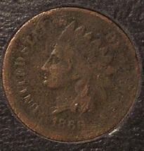 1868 Indian Head Cent AG Scarce Date #0143 - $15.99