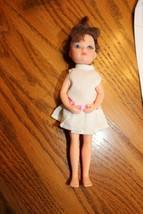 "Creata doll in tennis dress for doll house 6-1/2"" tall - $6.99"