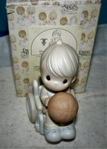 PRECIOUS MOMENTS / #192368 / GIVE ABILITY A CHANCE / 1997 / LIMITED EDITION - $28.22
