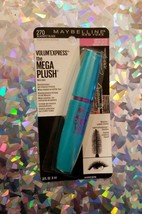 Maybelline Volum' Express The Mega Plush Mascara Blackest Black 270 - $6.24