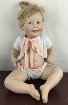 "Vintage Ashton Drake Galleries Doll 14"" 1993 Cute as a Button by Titus T... - $23.38"