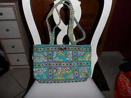 Vera Bradley handbag in Peacock pattern - $13.00