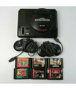 SEGA Genesis Game Console With 2 Controllers And 6 Games - Not Tested - $69.99
