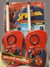 Marvel Spider-Man Walkie Talkie Set Toy 100-120 Feet 49MHz - NEW in Sealed Pkg - $12.59